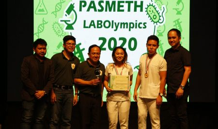 SSLC: Top 4 in the PHISMETS Laboratory Olympics 2020