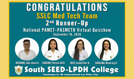 National PAMET-PASMETH Virtual Quizshow 2020