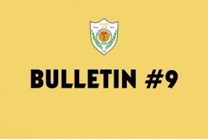 Bullletin 9
