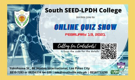 Upcoming Online Quiz Show on 2021