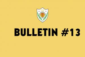 Bullletin 13