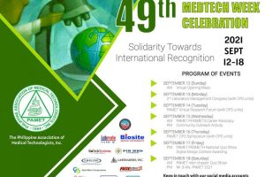 PAMET MT Week Celebration Poster